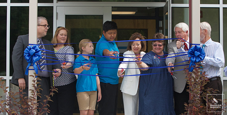 Blue Mountain Elementary School Unveils New Sustainable Building Two Years After Tornado Devastation